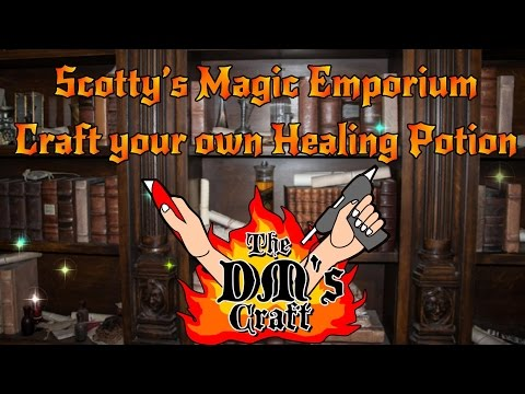 Make A Healing Potion Prop For Your D&D Players