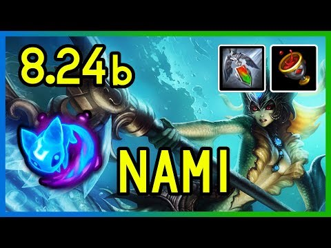 8.24b NAMI SUPPORT - Diamond - League of Legends