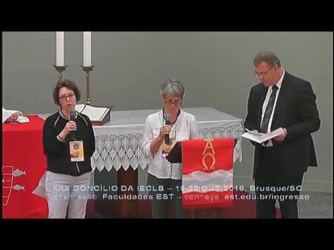 XXX Concílio da IECLB - Saudação Igreja Evangélica Luterana no Norte da Alemanha thumbnail
