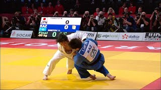 Japanese judoka dominate first day of Paris Grand Slam with four golds