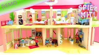 Playmobil Hotel Aufbau - Wir richten unser Ferienhotel schön ein!