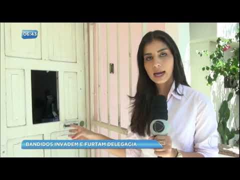 Bandidos invadem Delegacia da Mulher e roubam até produtos de higiene pessoal