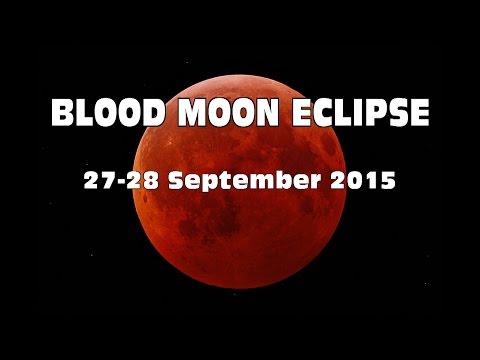 Sept 27/28th  ECLIPSE 2015:  4th  Super BLOOD MOON - Karen Lustrup