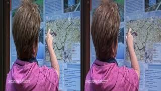 3D videos - Wandern an der Grenze: Rund um die Dreilägerbachtalsperre - 4K UHD 3D SBS VR TV