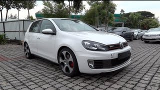 2012 Volkswagen Golf GTI Start-Up and Full Vehicle Tour