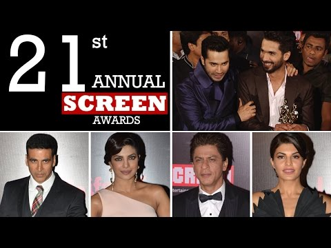 Life OK Screen Awards 2015 | VIDEO | Shahrukh Khan, Priyanka Chopra, Deepika & MORE!