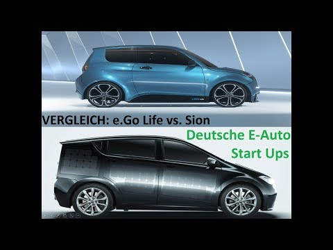 Vergleich: e.GO Life VS. Sion - Deutsche E-Auto Hersteller