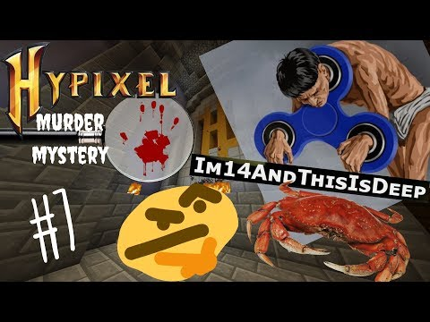 Deep Questions! / Hypixel Murder Mystery Gameplay: Episode 7 (feat. Slime & Scurge_McGurge!)
