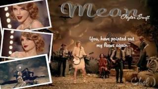 MEAN (karaoke) - taylor swift