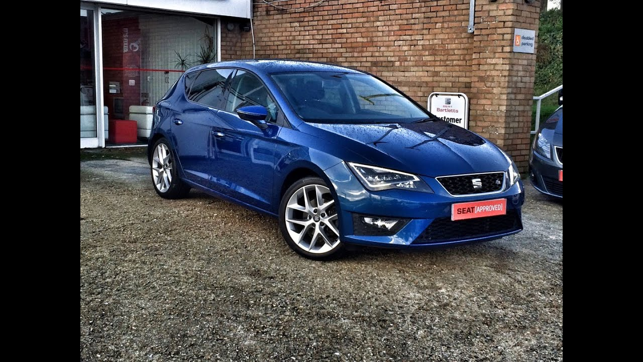 seat leon 2 0 tdi fr dsg sold by bartletts seat in hastings youtube. Black Bedroom Furniture Sets. Home Design Ideas