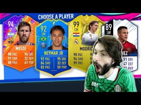 RAINBOW DRAFT CHALLENGE! FIFA 19