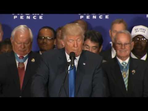 rovio gamer documentary Donald Trump Speech At Trump International Hotel, Washington, DC 9 16 2016