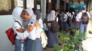 VIDEO Uji Coba Ujian Nasional Online Terkendala Listrik