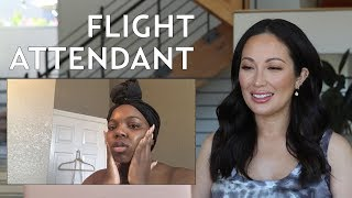 A Flight Attendant's Skincare Routine: My Reaction & Thoughts | #SKINCARE