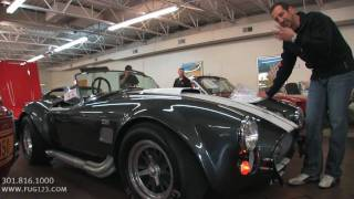 1966 A.C. Shelby Cobra for sale with test drive, driving sounds, and walk through video