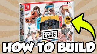 How To Build Nintendo Labo: Toy-Con 04 VR Kit! [🔴LIVE]
