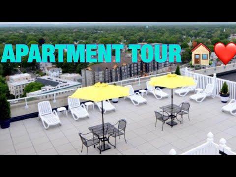 NEW APARTMENT TOUR IN NEW JERSEY | BROOKEDOTCOM thumbnail