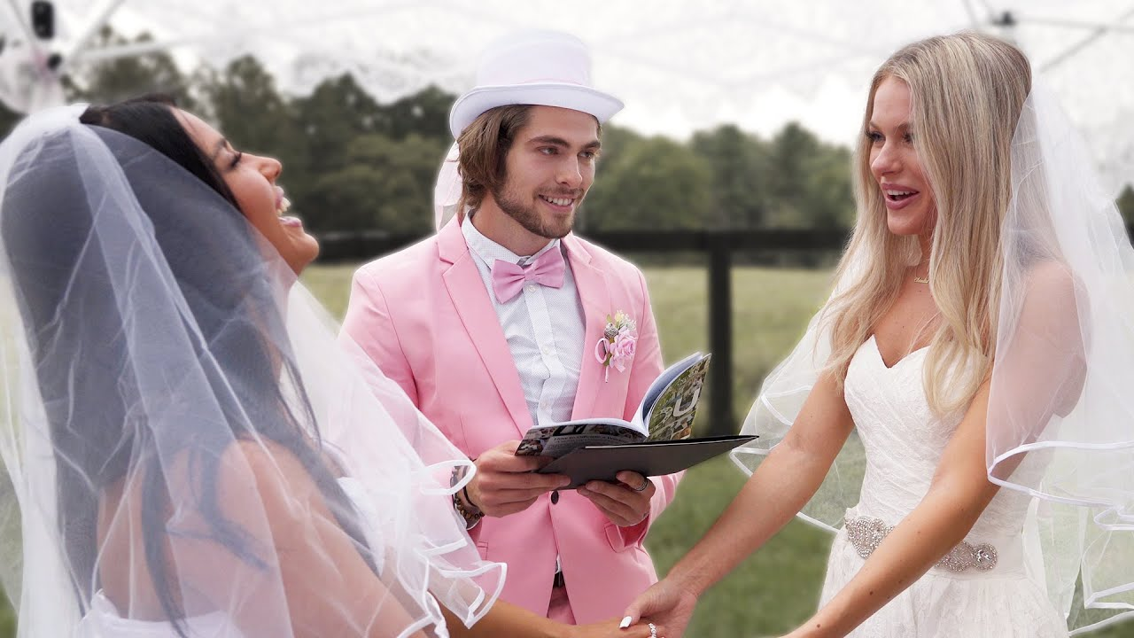 I tricked my sister into legally marrying her best friend