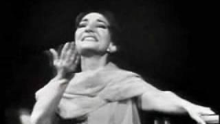 """Maria Callas sings """"Una voce poco fa"""", from Rossini"""