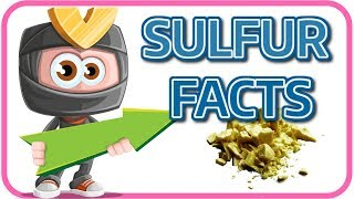 [Learn English Chemistry 2] SULFUR SULPHUR FACT - LEARN SCIENCE FOR KIDS