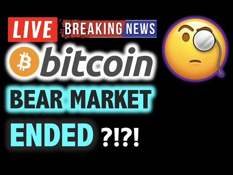 Has The BITCOIN BEAR MARKET Ended? Or... 💥❗️LIVE Crypto Analysis TA & BTC Cryptocurrency Price News