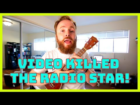 Video Killed The Radio Star - Ukulele Tutorial