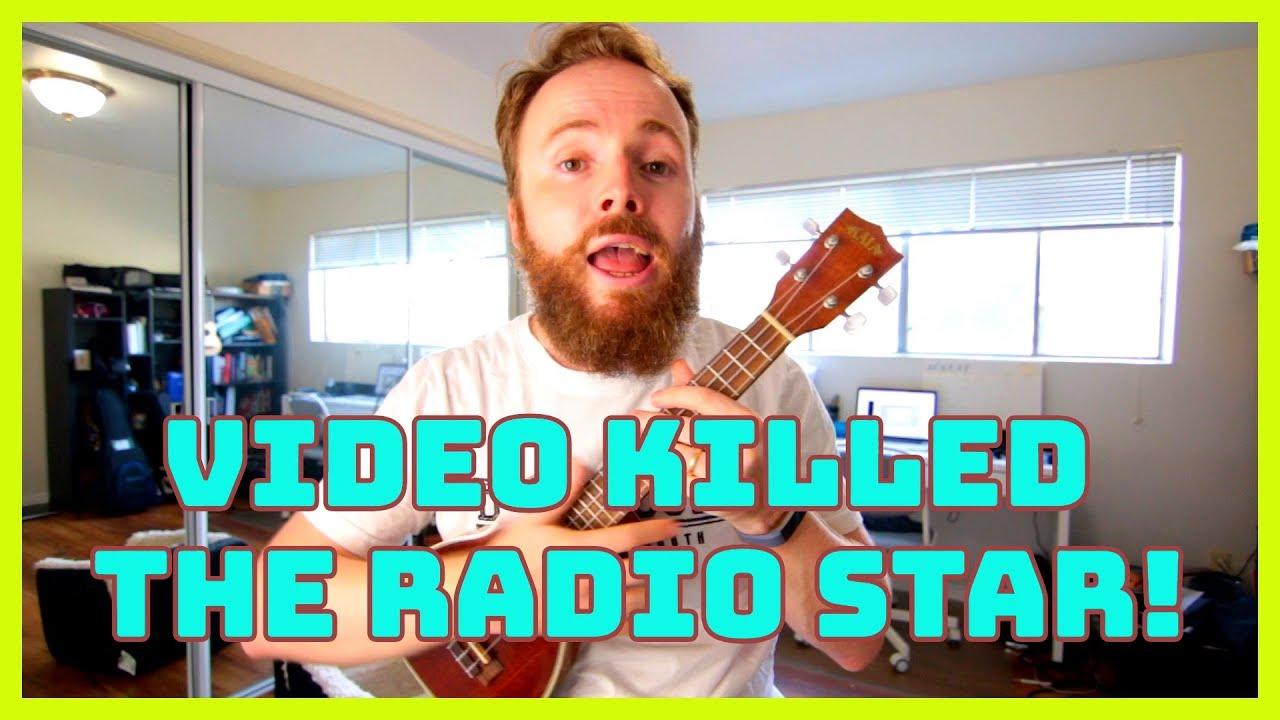Video Killed The Radio Star Ukulele Tutorial Youtube