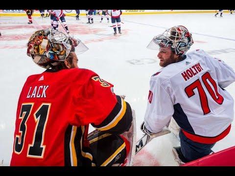 Washington Capitals vs Calgary Flames - October 29, 2017 | Game Highlights | NHL 2017/18