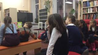 Встреча в библиотеке ''Адмиралтейская'' г.Санкт-Петербург  23.11.2016