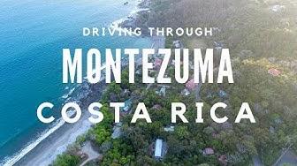 Driving around Montezuma Costa Rica