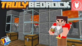 Truly Bedrock SMP : S2 - E7 - Automatic Chicken Farms!