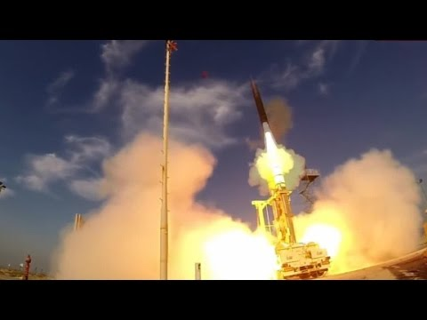 Israel fires missile into space