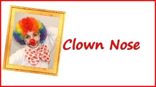 how to make a clown nose