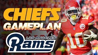 Attack all levels! Chiefs Gameplan vs Rams - Patrick Mahomes Tyreek Hill | Kansas City Chiefs NFL