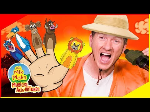 Finger Family Lion King Animals | Nursery Rhymes and Kids Songs | The Mik Maks