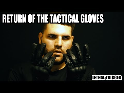 ASMR RETURN OF THE TACTICAL GLOVES : Leather Glove Sounds