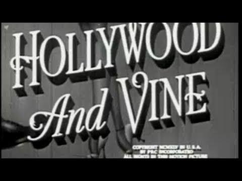 HOLLYWOOD AND VINE 1945 Ralph Morgan  Wanda McKay