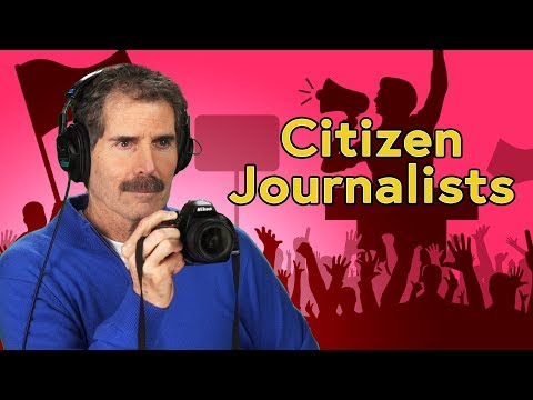 The Rise Of Citizen Journalists