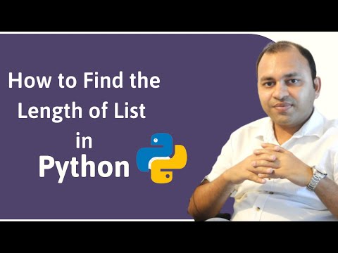 How to Find the Length of List in Python?| Python Basics Tutorial thumbnail