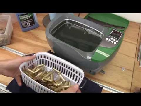 RCBS Ultrasonic Cleaner Cleaning 308 Brass