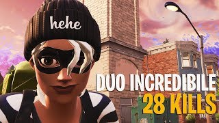 A PASSO DAL RECORD ITALIANO DI DUO SU FORTNITE! 28 KILLS [PC]