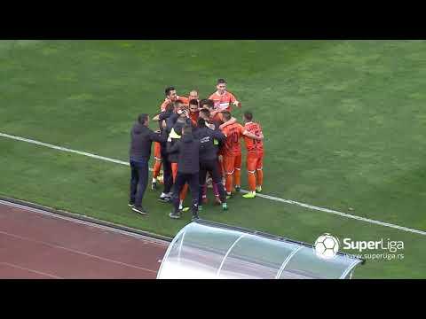 Super Liga 2018/19: 27.Kolo: PARTIZAN – SPARTAK ŽK 1:3 (1:1)