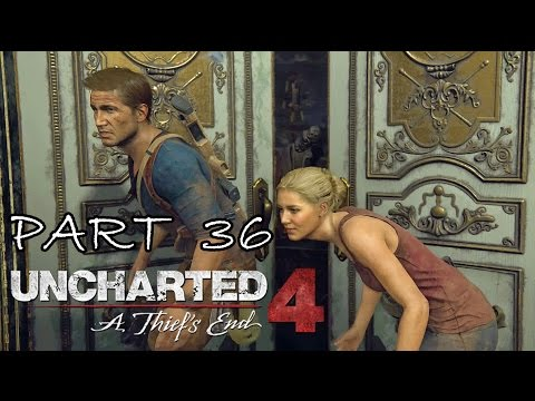 [36] Uncharted 4: A Thief's End - Avery's House - Let's Play Gameplay Walkthrough (PS4)