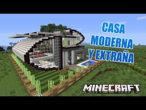 Minecraft casa moderna y extra a casas de suscriptores for Casa moderna 9 mirote y blancana