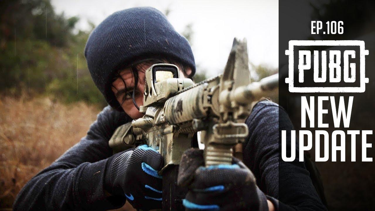《 絕地求生 》PUBG Ep.106|春季最大改版內容介紹|新槍款 MP5K ...