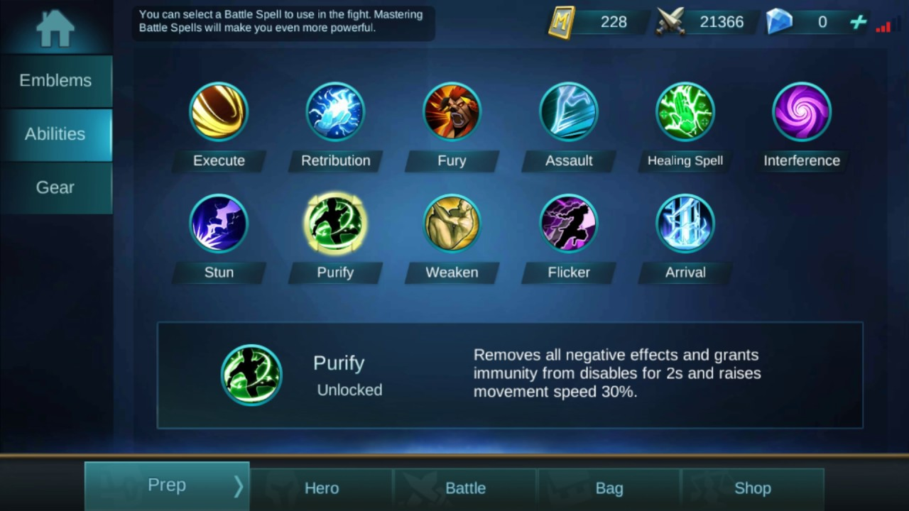 Mobile Legends: Battle spell tutorial. Take your game to the next ...