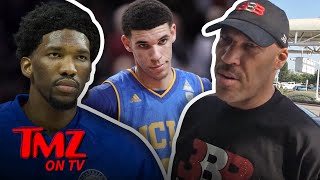 LaVar Ball is coming back hard at Joel Embiid -- after the NBA star...