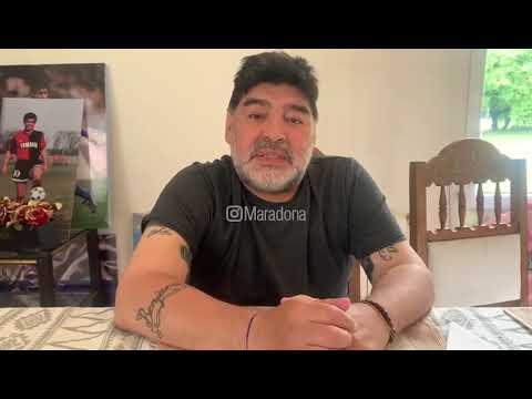 La lista de los bienes que Maradona prometió donar