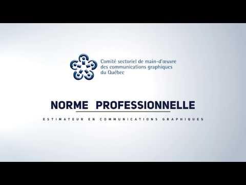 Promo - Norme Professionnelle Des Estimateurs En Communications Graphiques