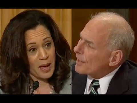 "John Kelly Gets Pissed When Kamala Harris Interrupts Him 3 Times! ""LET ME FINISH ONCE!"""